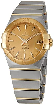 Omega Men's 123.20.35.20.08.001 Constellation Champagne Dial Watch by Omega