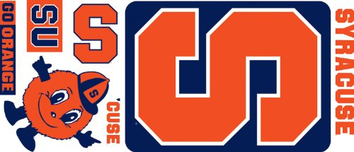 Roommates Rmk2052Gm Syracuse University Peel And Stick Giant Wall Decals front-385750