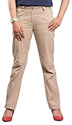 Begonia Womens Pants (RCPL_01_Beige_Small)
