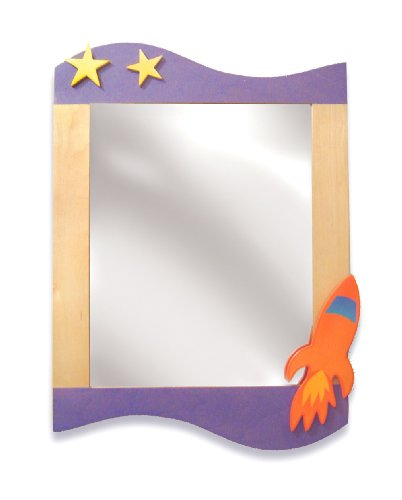 Room Magic RM10-SR Wall Mirror, Star Rocket