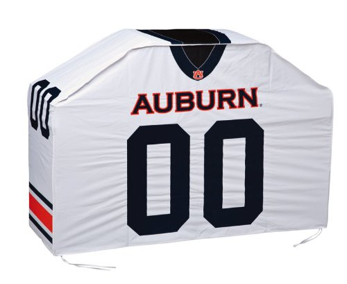 "NCAA Football University of Auburn Alabama Jersey Style Grill Cover 60"" at Amazon.com"