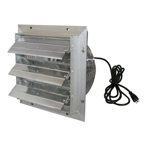 J and D VES201C 20 In. Shutter Exhaust Fan With Cord 1-10 Hp (Shutter Exhaust Fan With Cord compare prices)