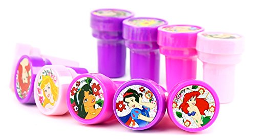 Disney Princess Self-Inking Stamps / Stampers Party Favors (10 Counts)