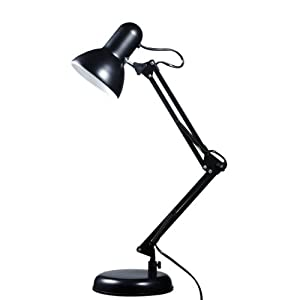 Model Lloytron L958SV Desk Lamp Silver Amazoncouk Lighting