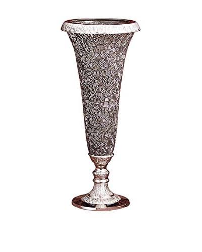 Godinger Vase Glitz Cover, Silverplate