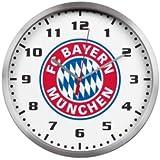 FC Bayern Wanduhr Logo