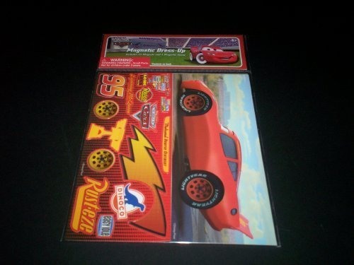 The World Of Cars Magnetic Dress-Up Board - 1