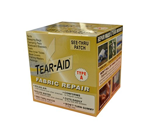 Tear-Aid Fabric Repair Kit, 3 in x 5 ft Roll, Type A (Boat Canvas Repair Kit compare prices)