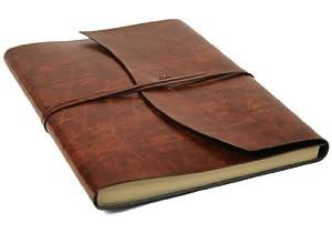 Amazon.com : Romano Handmade Italian Recycled Leather Journal Large A4