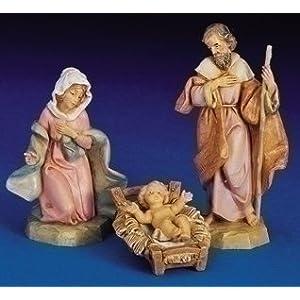 Click to buy Italian Christmas decorations : Fontanini Holy Family nativity set from Amazon!