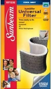 Cool Mist Universal Filter for Humidifiers (Holmes / Honeywell / Ge / White Westinghouse)