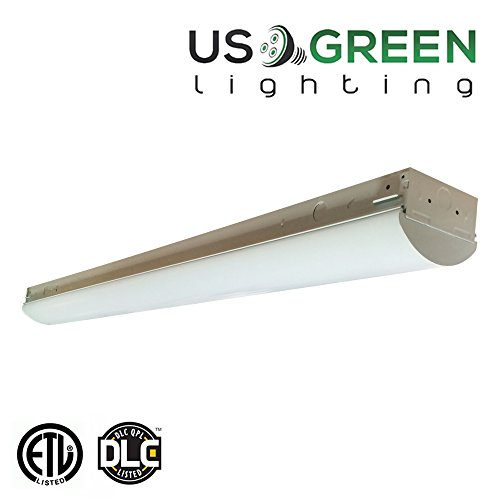 LED 40 Watt 4ft Linear Indoor Light Fixture 5000K (Daylight) 4200 Lumens 120-277V Universal Voltage (Commercial Ceiling Light Fixtures compare prices)