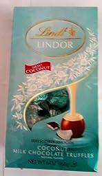 Lindt Lindor Irresistibly Smooth Coconut Milk Chocolate Truffles 6oz