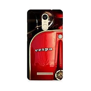 Rayite Vespa Premium Printed Case For Xiaomi Redmi Note 3