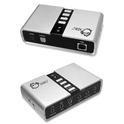 SIIG USB SoundWave 7.1 Digital Audio Adapter