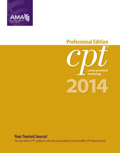 CPT 2014 Professional Edition (Current Procedural Terminology, Professional Ed. (Spiral)) (Cpt / Current Procedural Terminology (Professional Edition))