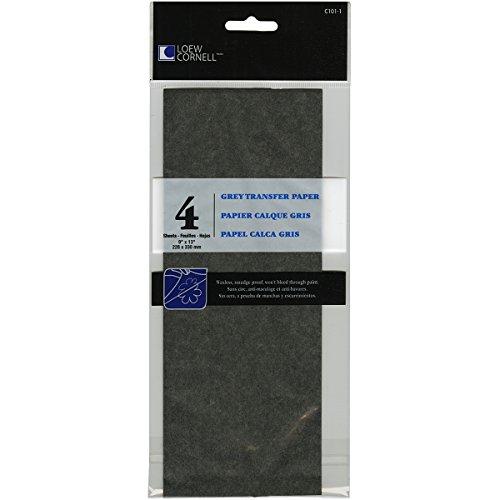 loew-cornell-c101-1-4-piece-grey-transfer-paper-9-inch-by-13-inch