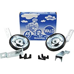 Wald 10252 Bicycle Training Wheels (16 to 20-Inch Wheels, .75 and 1-Inch Frame Tubes) by Wald