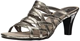 A2 by Aerosoles Women\'s Water Power Dress Sandal,Silver,8 M US