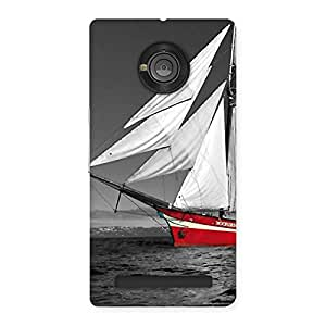 Gorgeous Vintage Ship Multicolor Back Case Cover for Yu Yuphoria