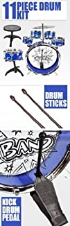 11pc Kids Boy Girl Drum Set Musical I…