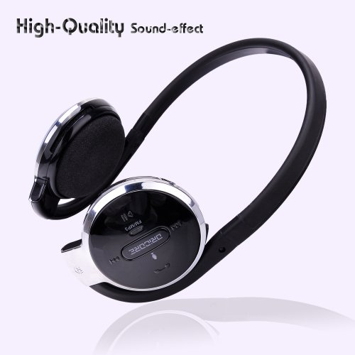 New Oricore K800 4 In 1 Stereo Bluetooth/ Mp3 Earphone/ Fm Radio/ Recording Wireless Around-Head Headset Support With Sd Black