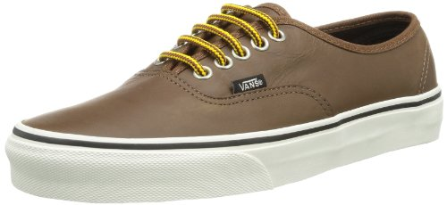 Vans Unisex - Adult U AUTHENTIC (HIKER) LEATHER Trainers Brown Braun (Brown) Size: 38
