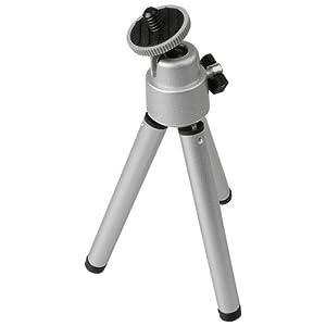 Foto Video Stativ Mini silber für Kodak DX7440 DX7590 Zoom DX7630 EOC DCS 1 EOC DCS 2 EOC DCS 3 Kamerastation II