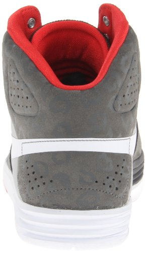 Nike SB Men's Paul Rodriguez 7 High Top Shoes-Dark Base Gray/White-11