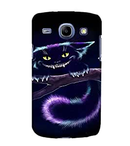 EPICCASE Scary Cat Mobile Back Case Cover For Samsung Galaxy Core (Designer Case)