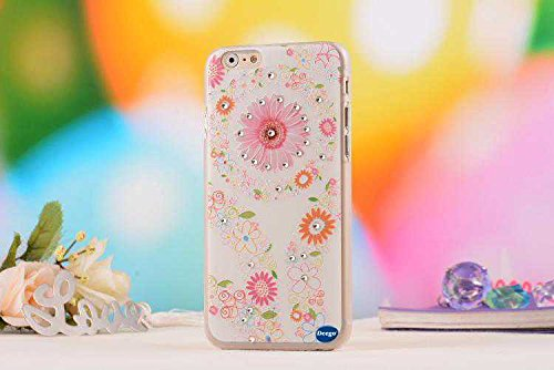Iphone 6 4.7 Ultra Thin Case,Nancy'S Shop Colorful Painting Luxury 3D Bling Hard Phone Accessories Case And Covers For Apple Iphone 6 4.7 Inch Screen (Sunflower Nancy'S Shop Case Cover)
