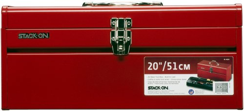 Stack-On R-420 20-Inch General Purpose Steel Tool Box, Red (Steel Toolbox Hinge compare prices)