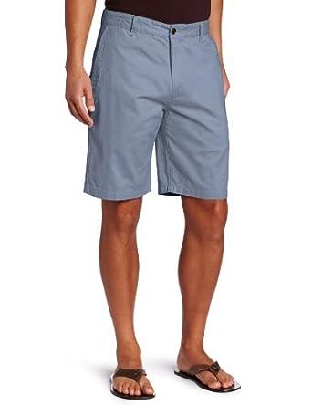 Dockers Men's Big & Tall Perfect Short Classic Fit Flat Front, Deck Blue, 50W