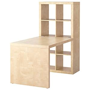 Amazon.com - Ikea Expedit Desk and Bookcase Cube Display