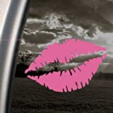 Woman Mouth Lip SEXY Pink Decal Car Truck Window Pink Sticker