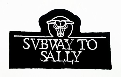 [Subway to Sally Punk Rock Heavy Metal Music Band Logo Jacket T Shirt Patch Sew Iron on Embroidered Symbol Badge Cloth Sign Costume New with High Quality for Your Cloth By] (Easy Sally Costumes)