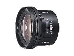 Sony SAL-20F28 20mm f/2.8 Wide Angle Lens for Sony Alpha Digital SLR Camera (Black)