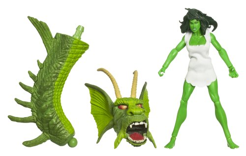 Incredible Hulk Legends Build A Figure - Savage She-Hulk (Doc Samson 1 Marvel compare prices)