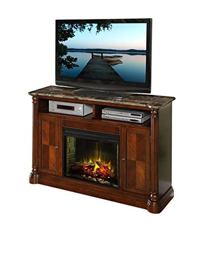 Legends Furniture Monte Cristo Fireplace Media Center, Hazelnut