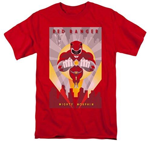 Mighty Morphin: Power Rangers - Red Ranger Deco T-Shirt