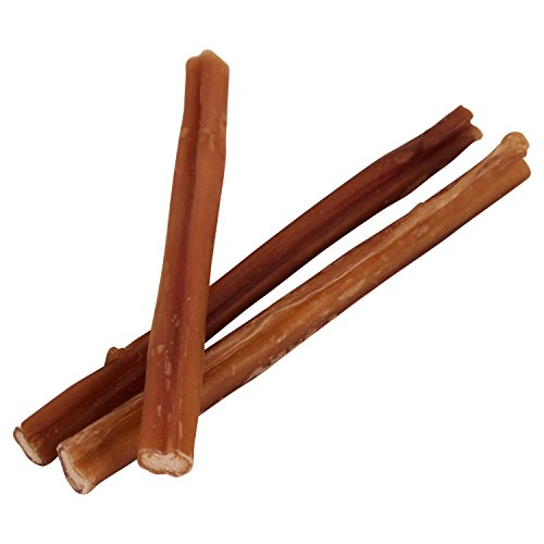 7 straight bully sticks for dogs small thickness 25 pack import it all. Black Bedroom Furniture Sets. Home Design Ideas