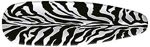 Rayen 6284.16CEBRA - Funda para plancha con diseño moderno, tejido resistente a calor, 51 x 127 cm   Comentarios de clientes y más información
