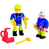 Fireman Sam - Figurines Double Pack (Sam and Officer Steele) [Amazon Exclusive]