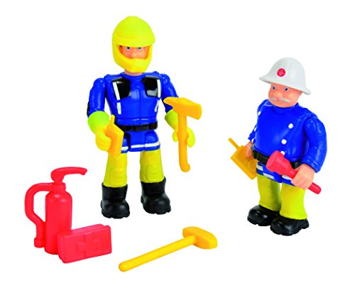 Fireman Sam - Figurines Double Pack (Sam and Officer Steele) [Amazon Exclusive] - 1