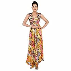 Madhus world Woman MultiColored Tube Gown _GN00013A