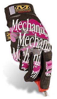 Mechanix Wear MG-72-530 Womens Glove Pink Camo Large