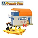 Fireman Sam Boathouse, Neptune Boat & Sea Rescue Penny Figure Set
