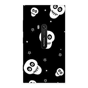 Skull Star Back Case Cover for Lumia 920