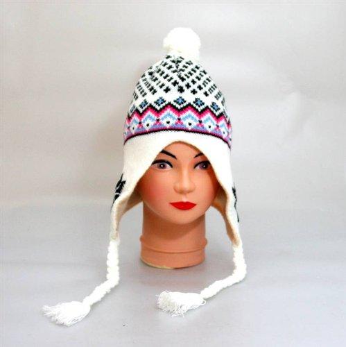 moderne Polarmütze von in Weiß Oramics Wintermütze