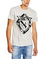 Diesel Camiseta Manga Corta T-Scod (Gris)